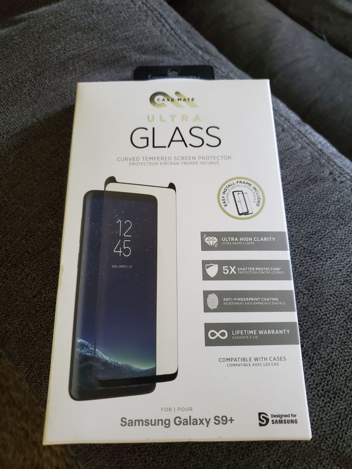 Galaxy s9 glass protector