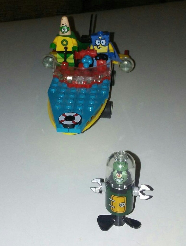 Lego SpongeBob Heroic Heroes of The Deep