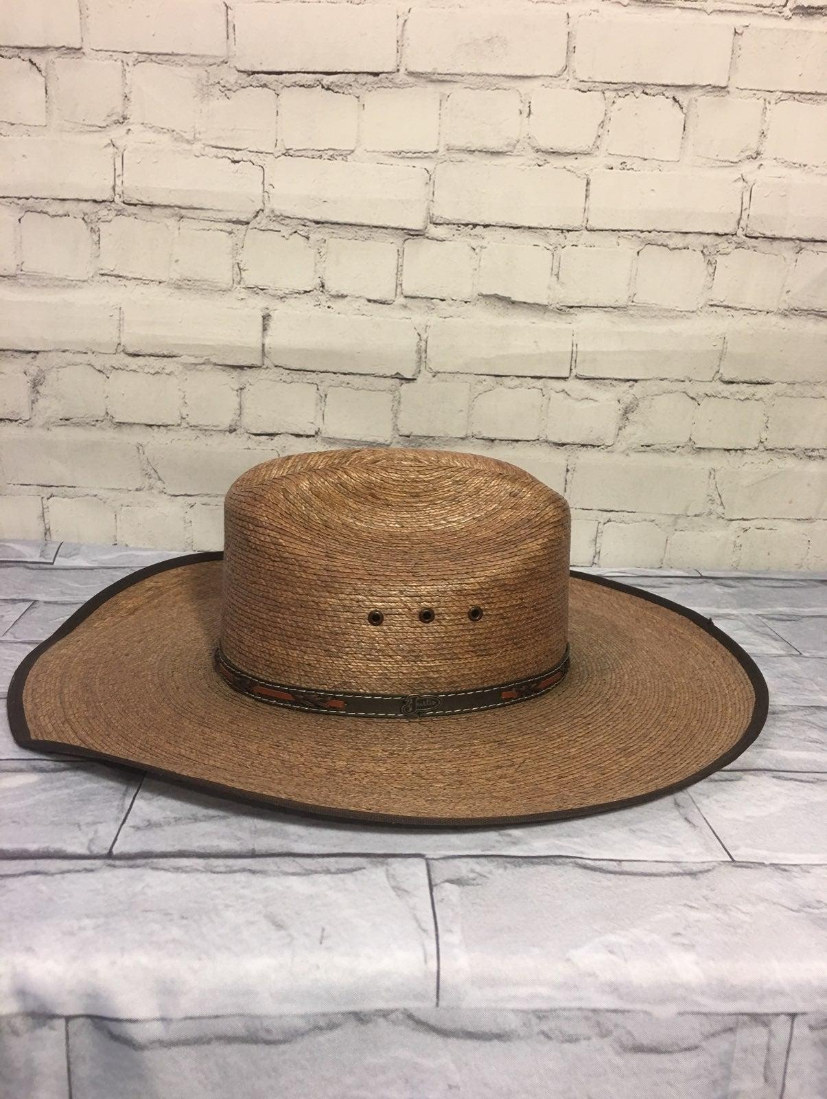 Justin Bent Rail cowboy hat