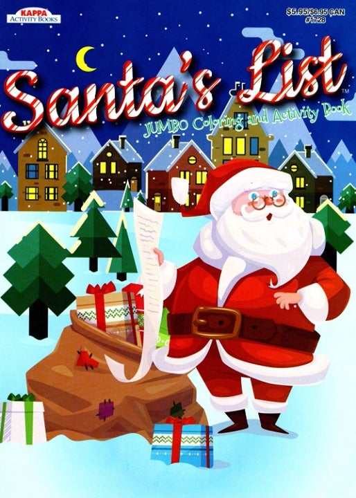 Santa's List! - Coloring Book