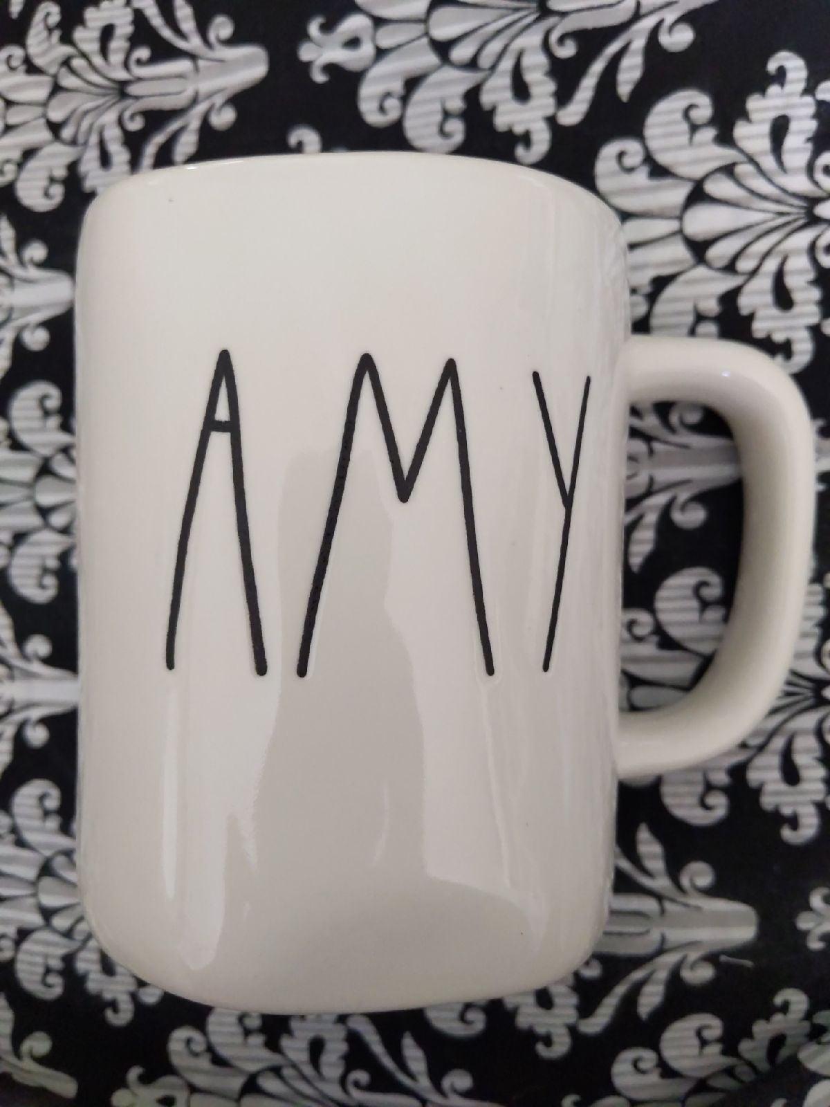 Rae Dunn AMY Coffee Mug New! 4.99 ship