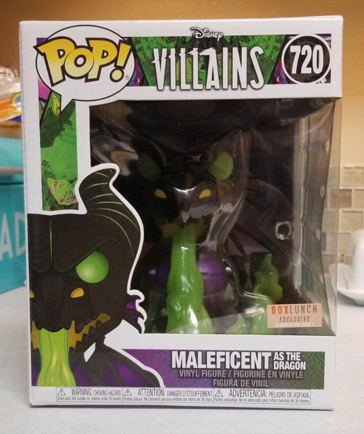 "Funko Pop Maleficent as the Dragon 6"" BL"