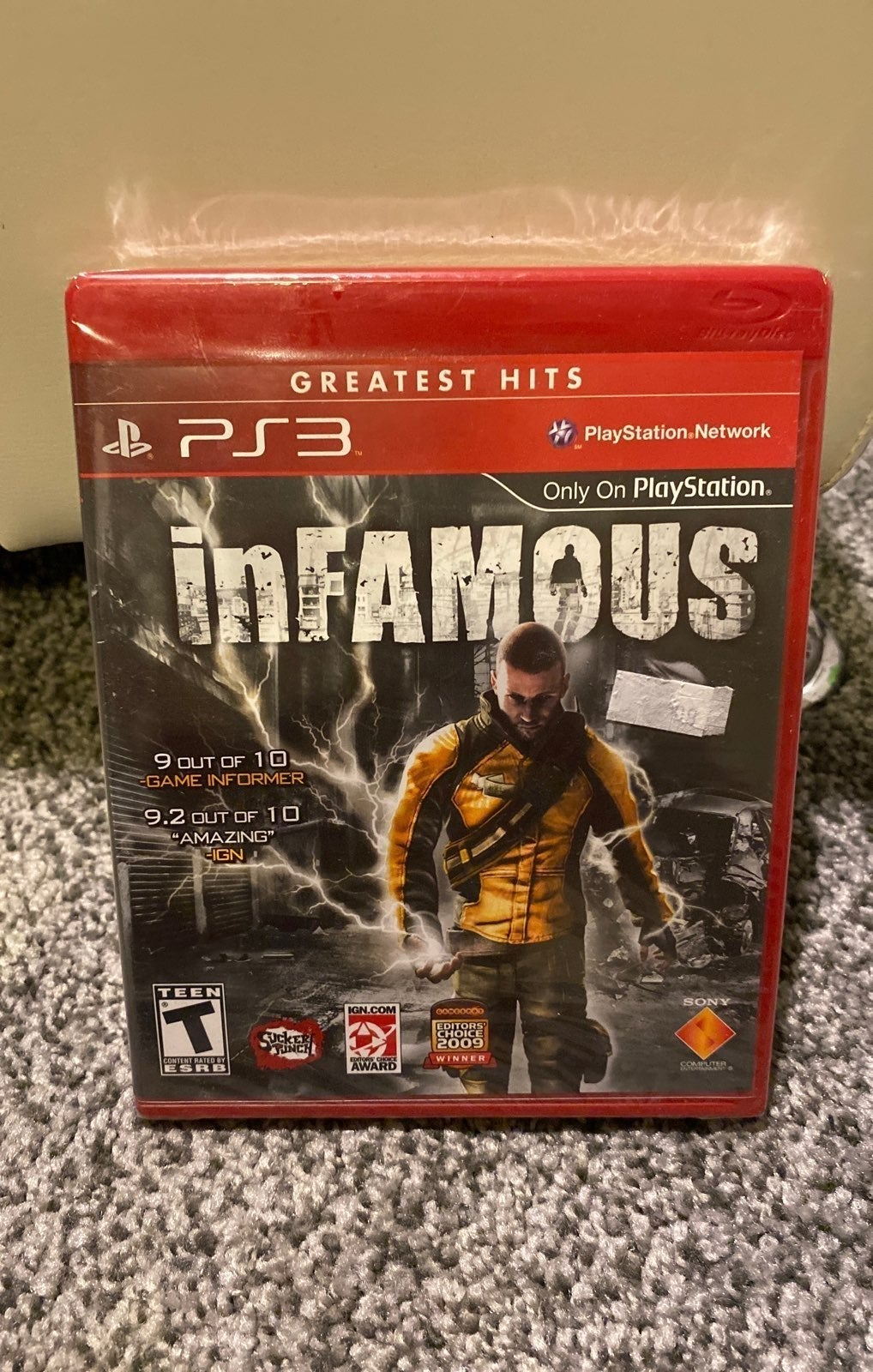 Infamous Greatest Hits PS3