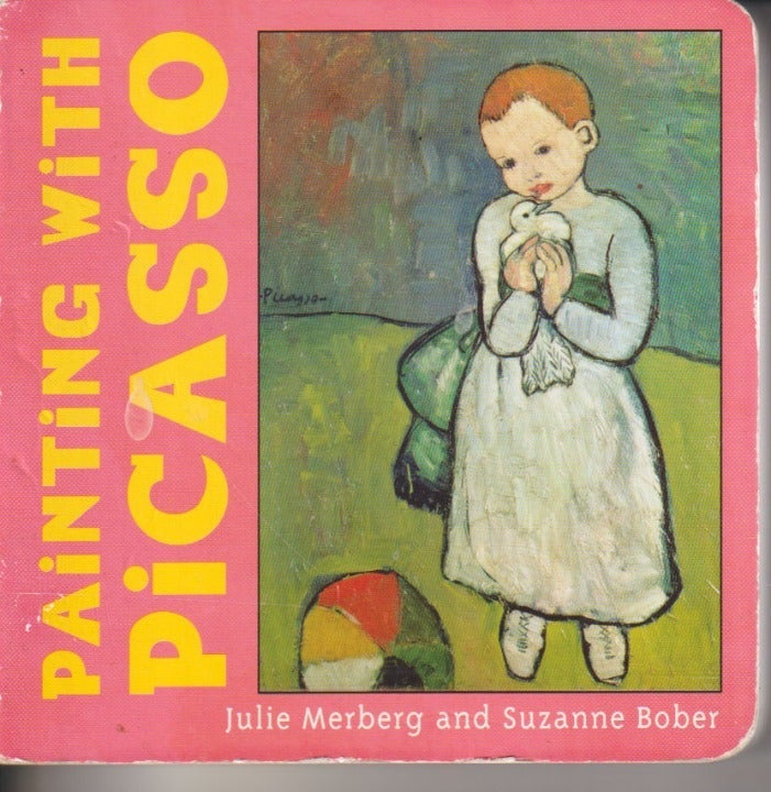 PAINTING WITH PICASSO-BOARD BOOK