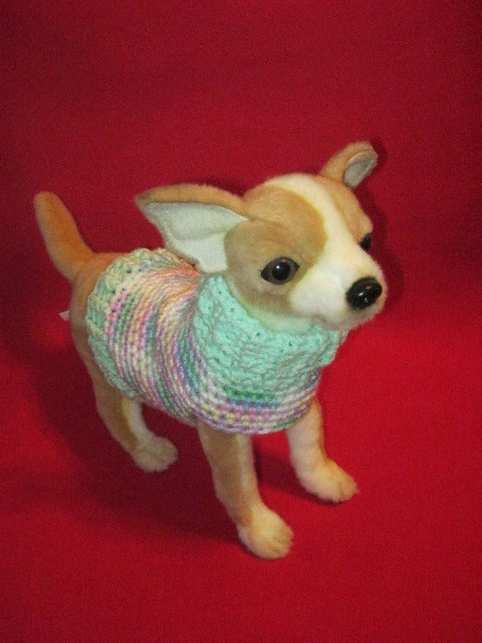Teacup/Small dog turtleneck Sweater XS/S