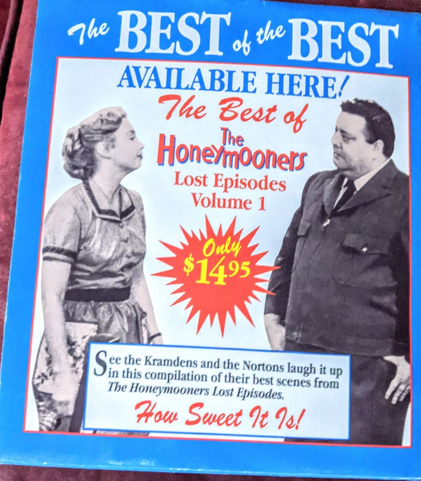 Honeymooners Tent stand ad