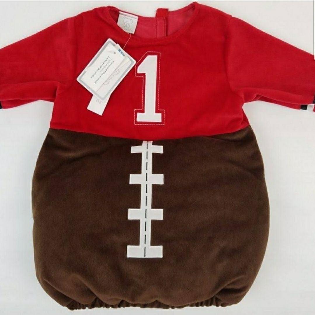 Baby Football Costume Dress Up 6-9 mos