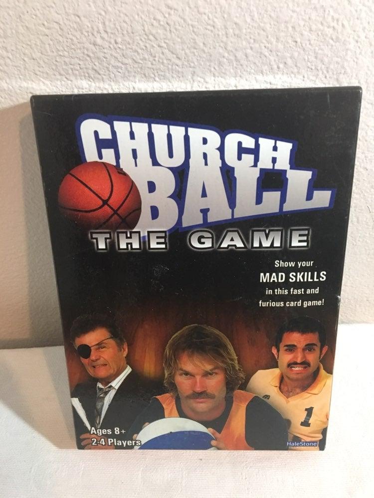 2006 Church Ball The Game Card Game