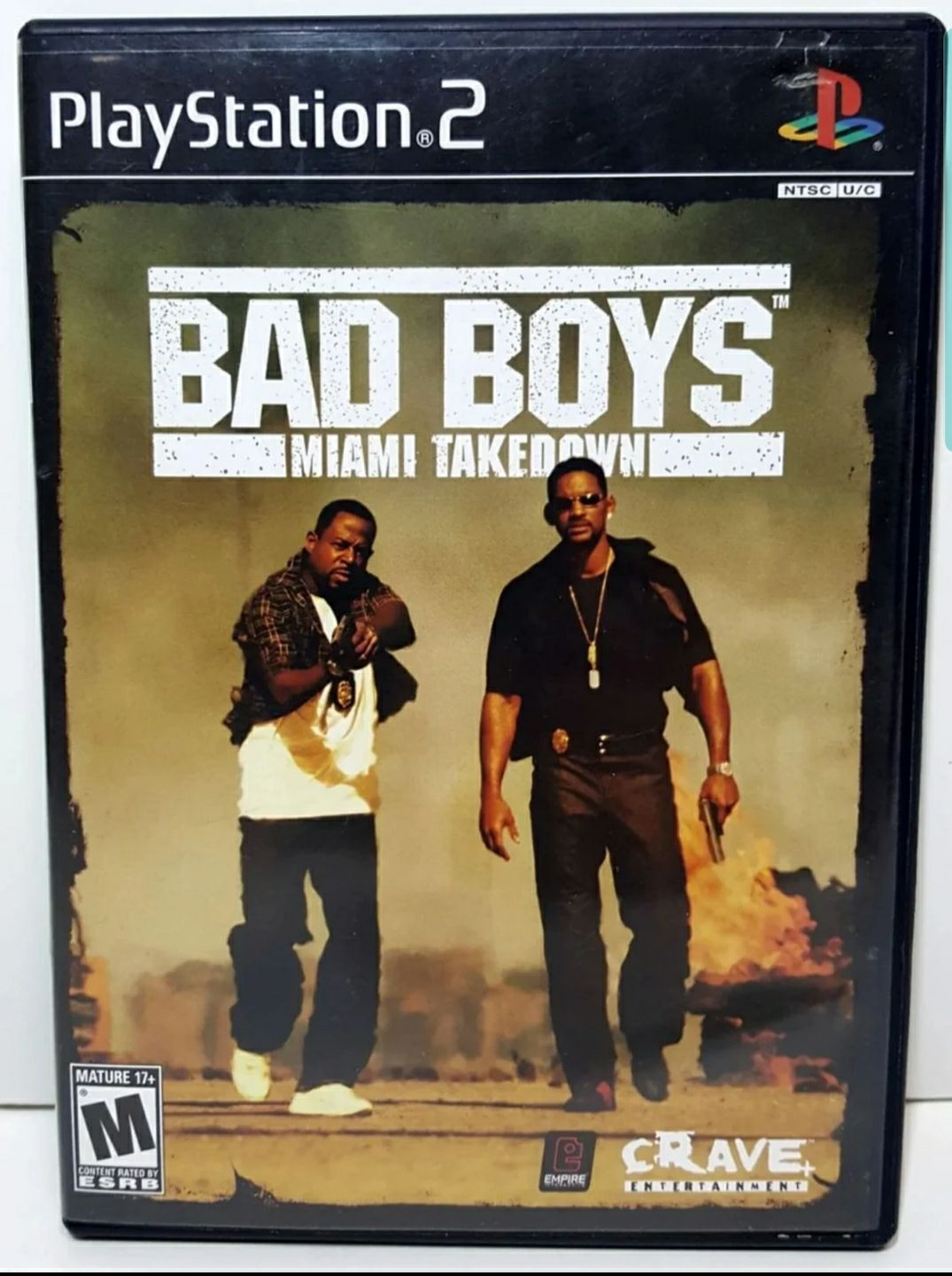 Playstation 2 Bad Boys Miami Takedown