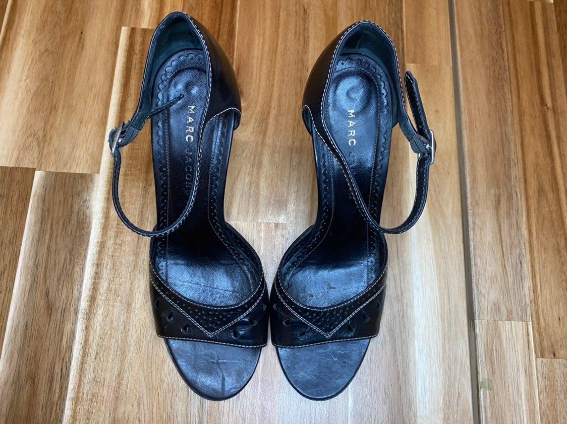 Vintage Marc Jacobs open toe Heels