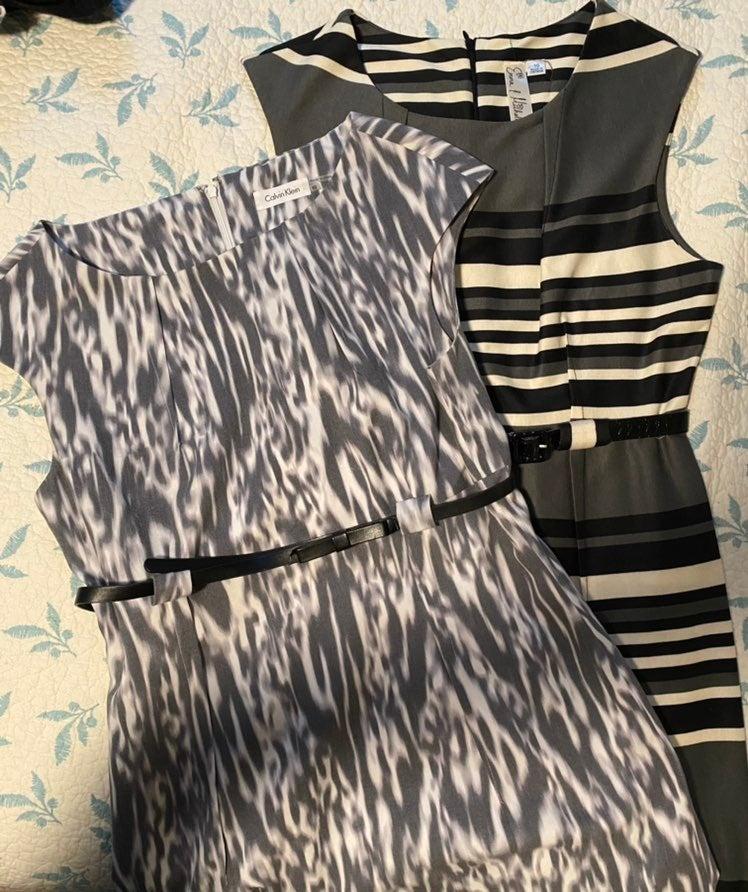 Bundle of 2 dresses - 1 Calvin Klein siz