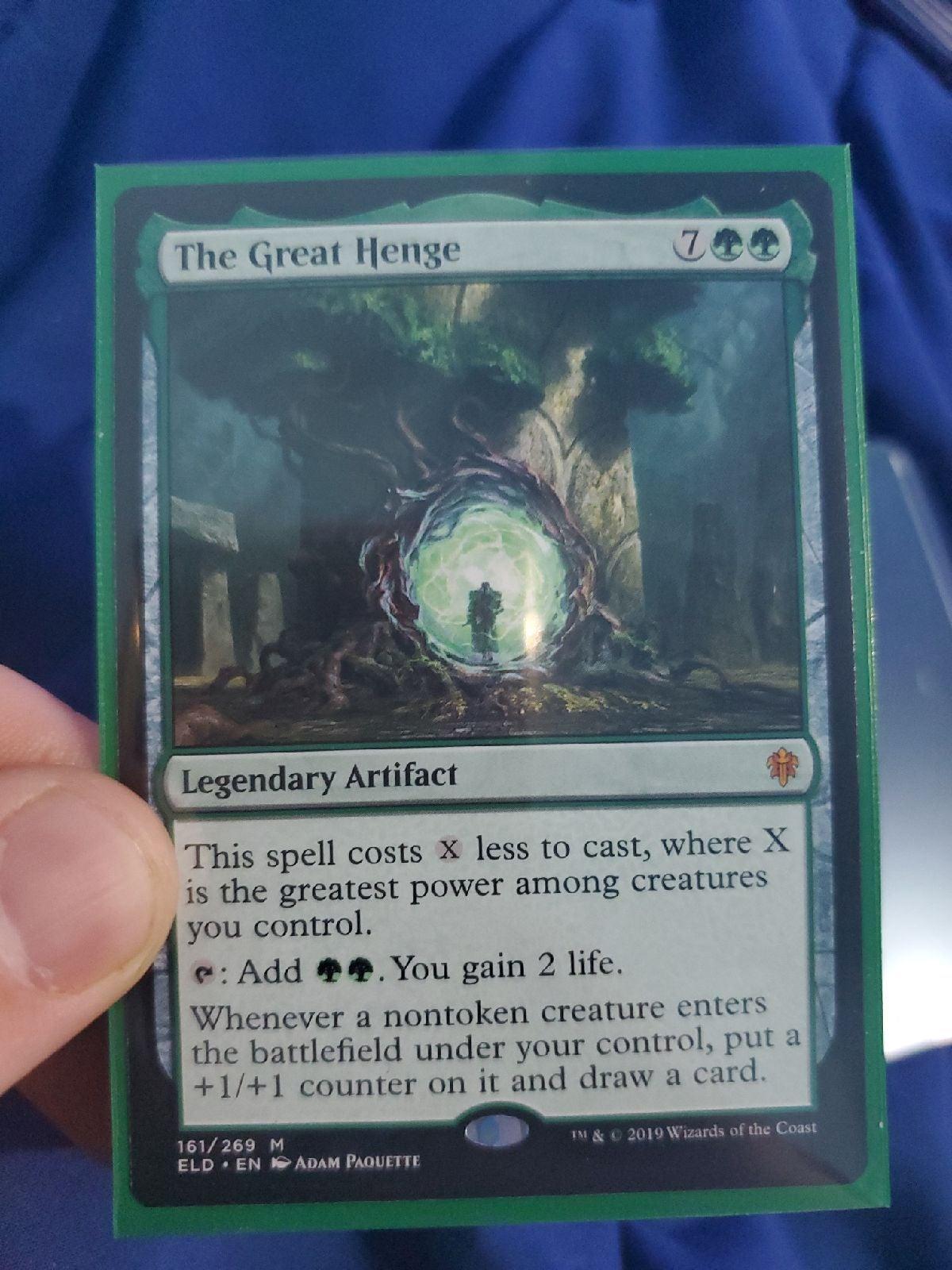 MTG the great henge