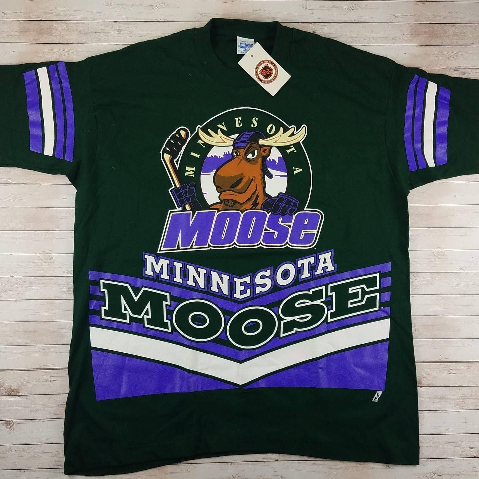 VTG 90s Minnesota Moose Salem Tee Shirt