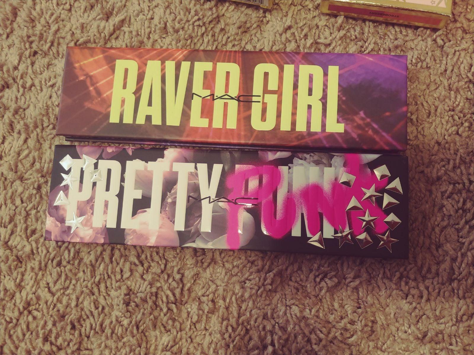 New MAC Raver Girl and pretty punk