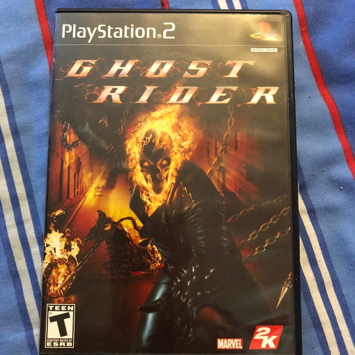 PS2 game Ghost Rider