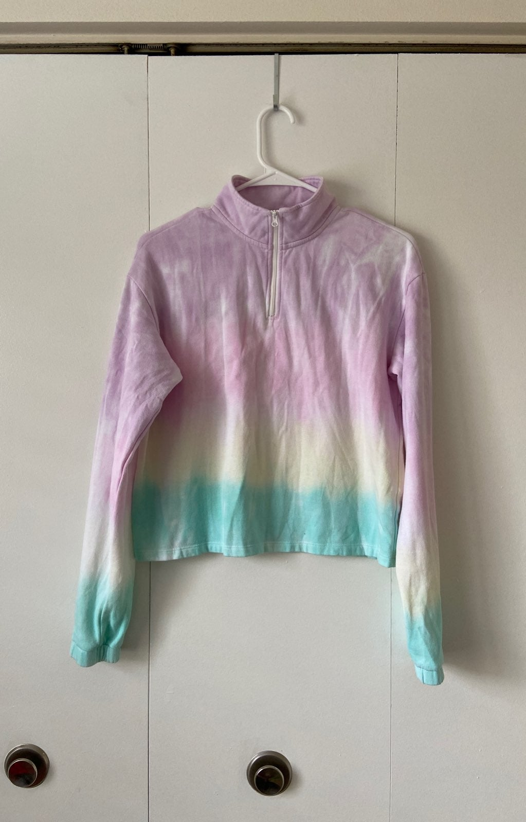SO LOUNGE LIFE 1/4 ZIP PULLOVER XS