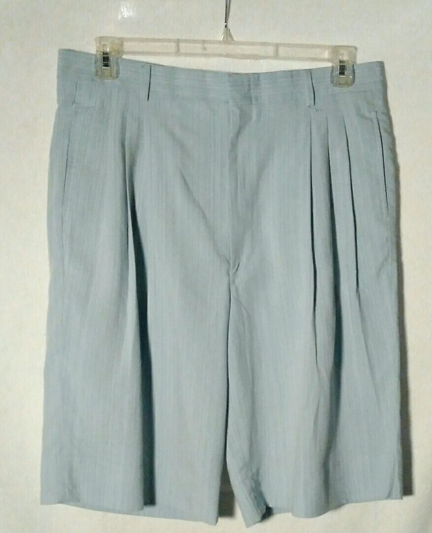 Men Light Blue Shorts by Inserch Size 36