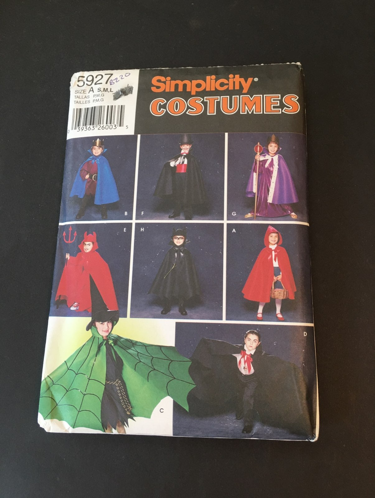 Cape and Hats for Children Pattern
