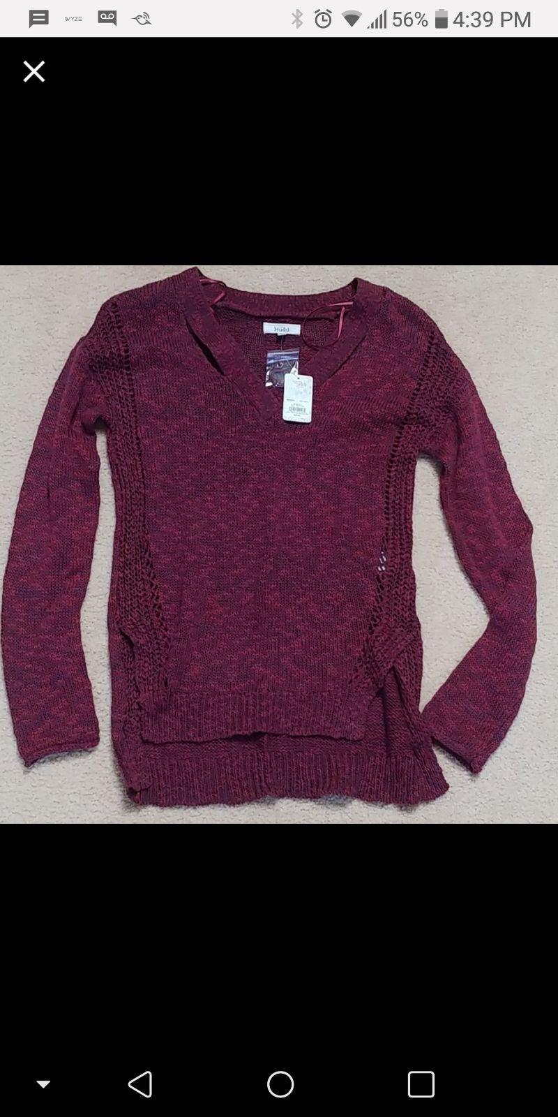 Mudd Sweater- Never worn