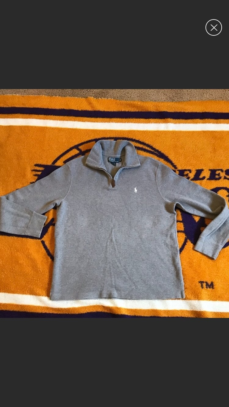 Ralph lauren sweater jacket medium