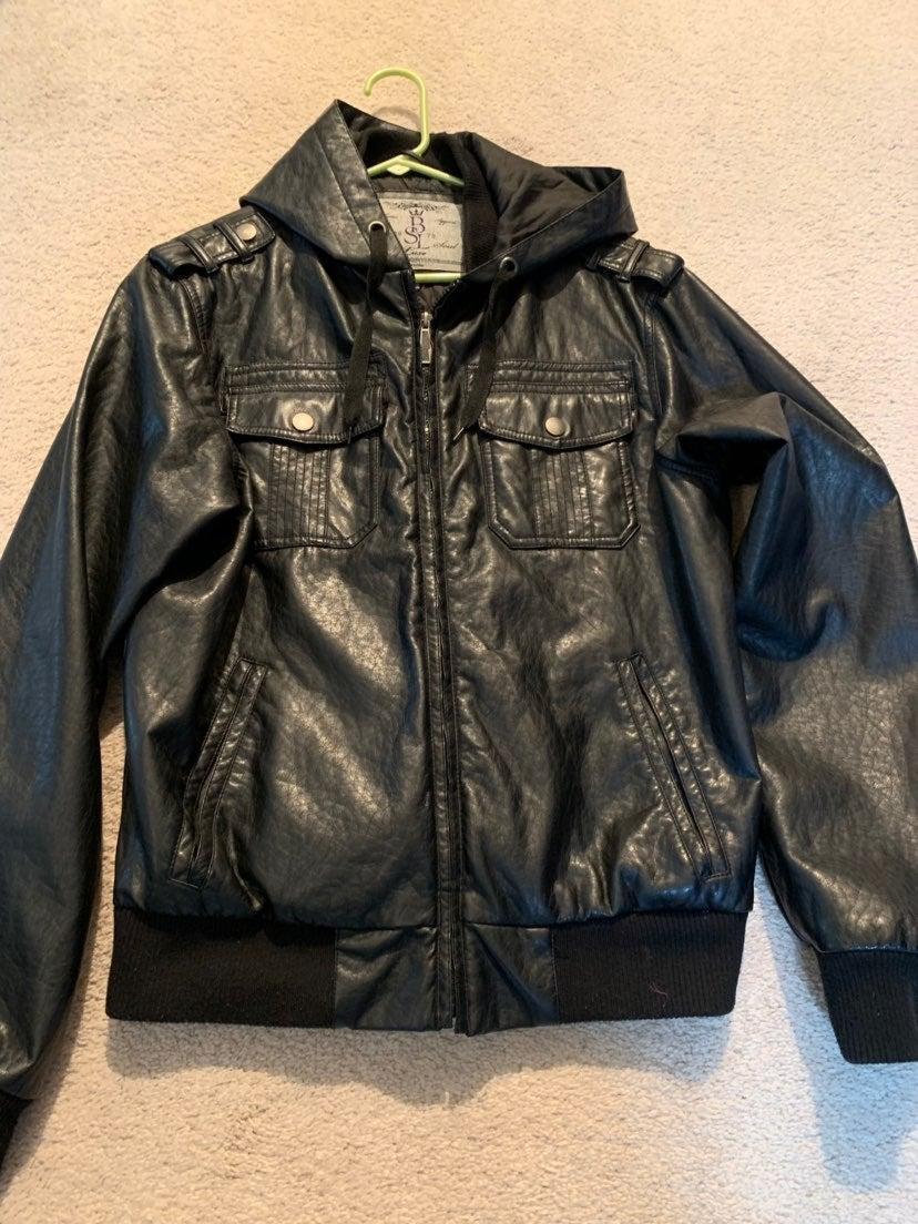 Brave Soul Faux Leather Jacket