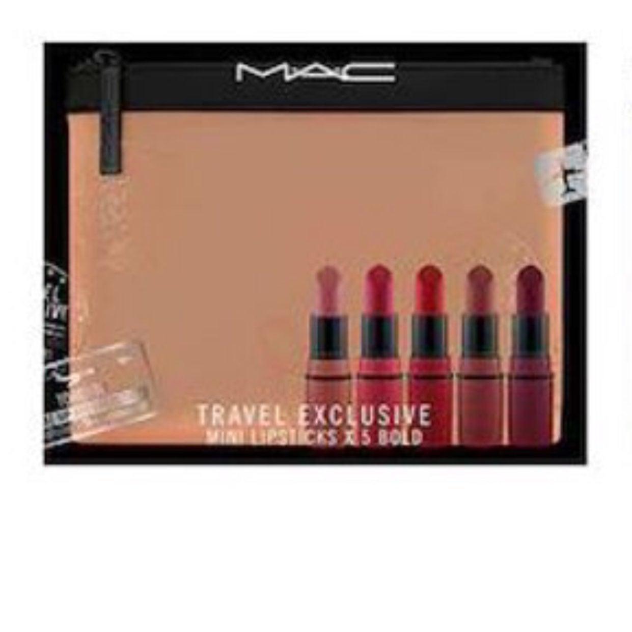 MAC travel exclusive mini lipsticks Bold