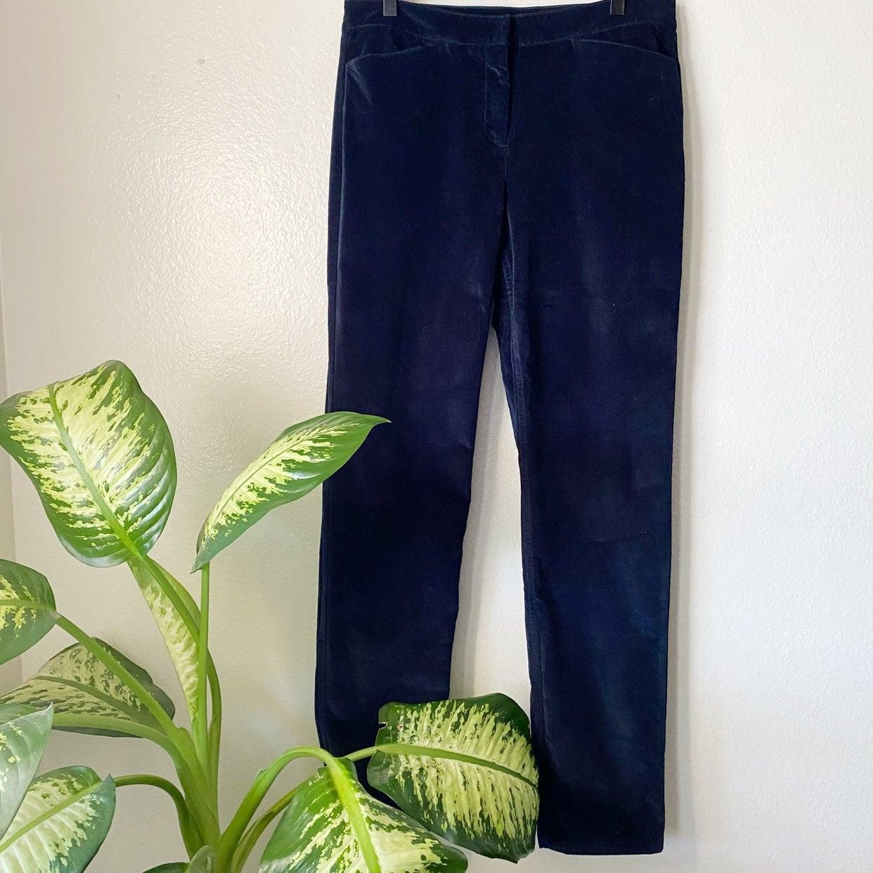 J Jill Straight Corduroy Pants