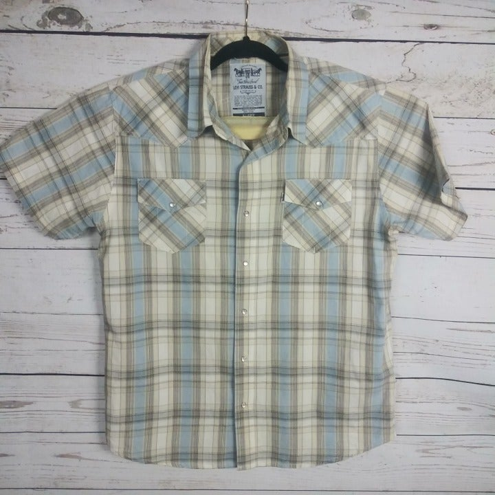 Levi's Strauss Men's XL Shirt Western