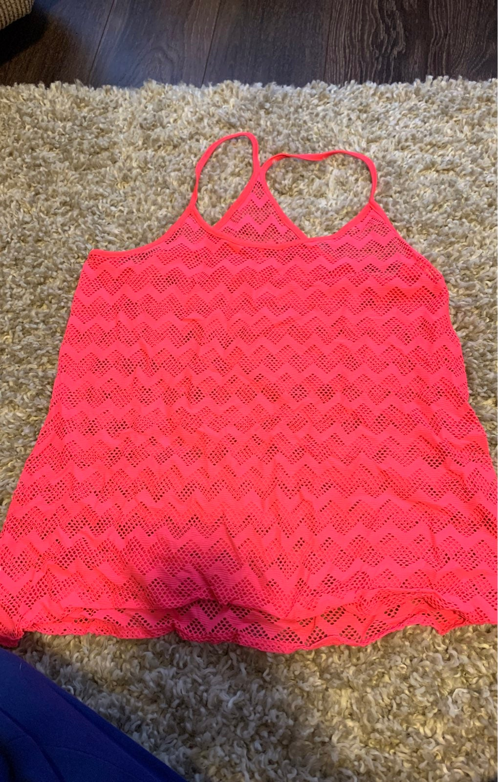 PINK bathing suit cover