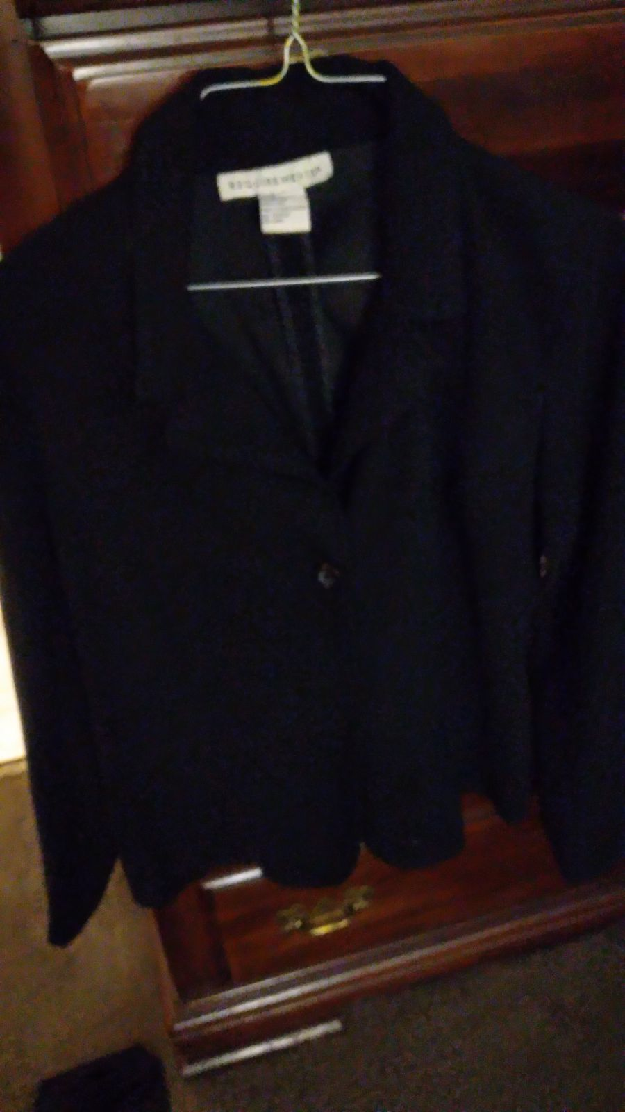 Small black jacket