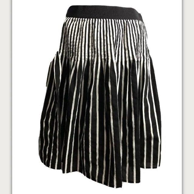 Anthropologie Maeve striped full skirt