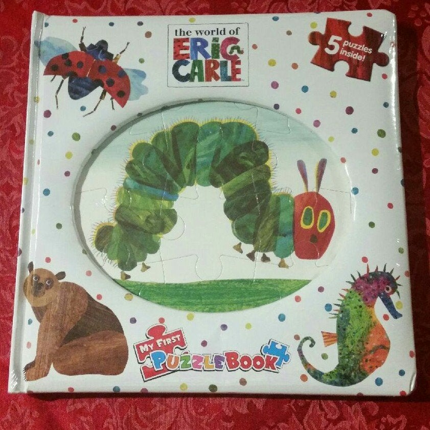 The Very Hungry Caterpillar Puzzle Book