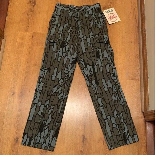 L.L. Bean Camo (Bark) Pants NEW