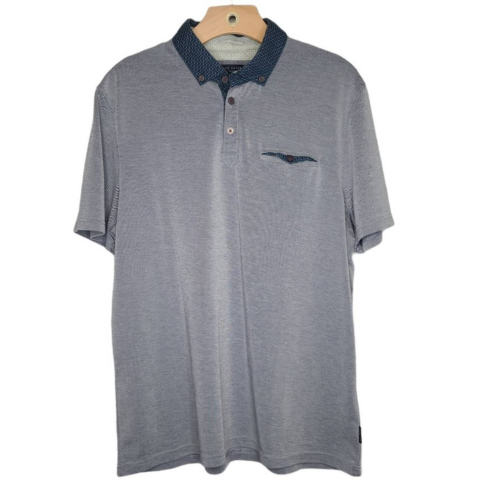 Ted Baker Polo Shirt w/ Pocket 5 / XL