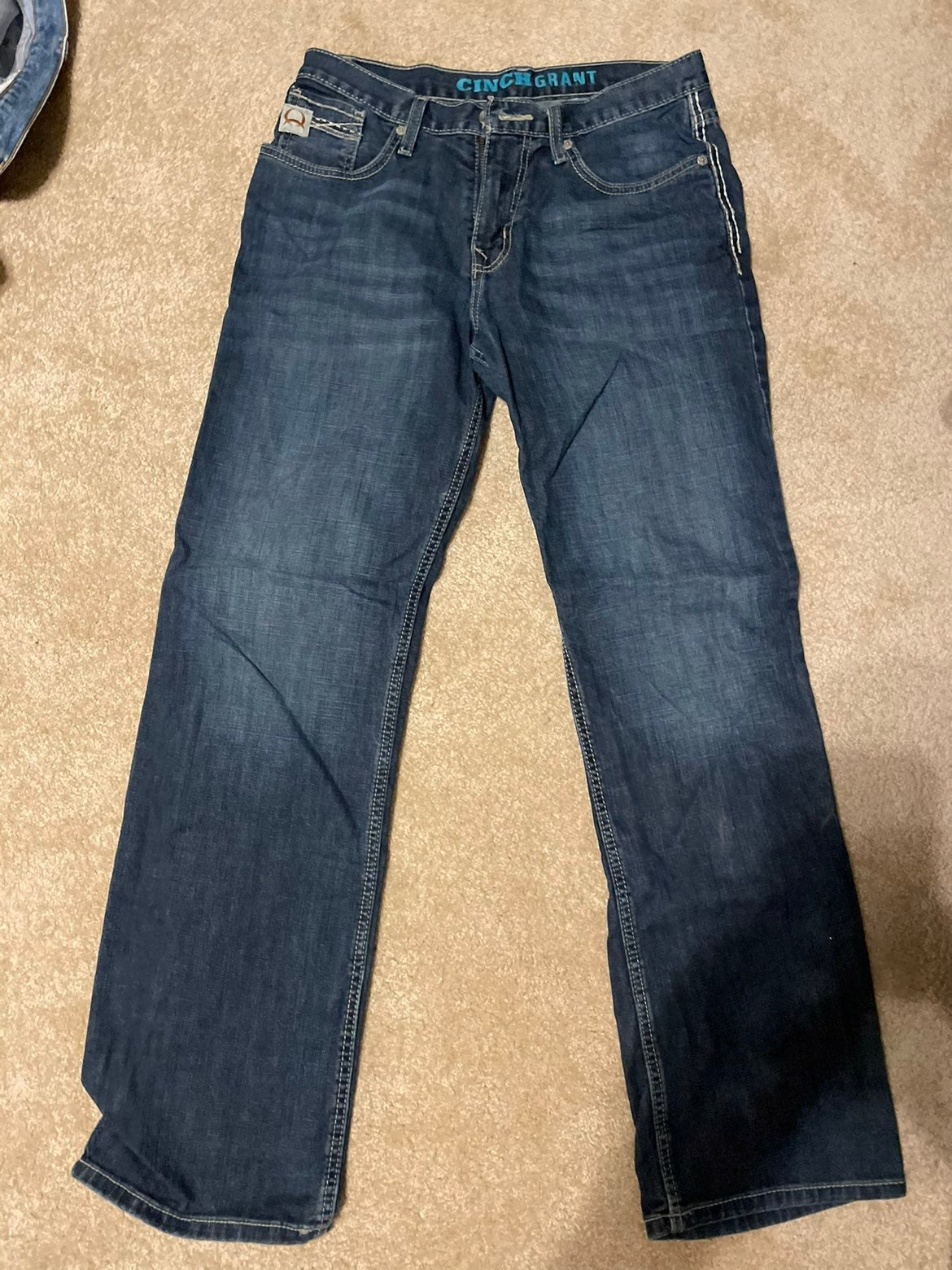 Mens clinch jeans