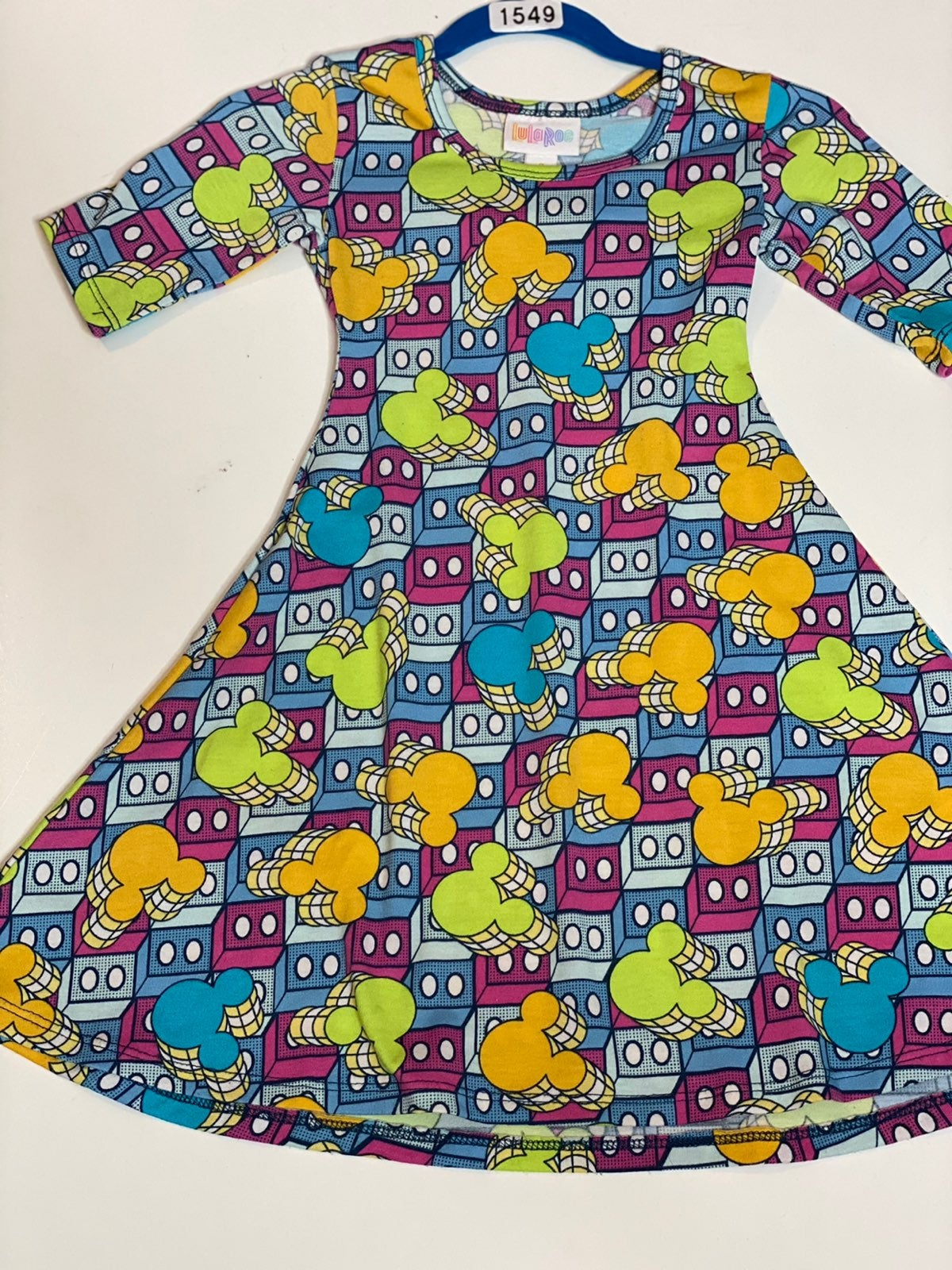 Mickey Mouse Adeline dress