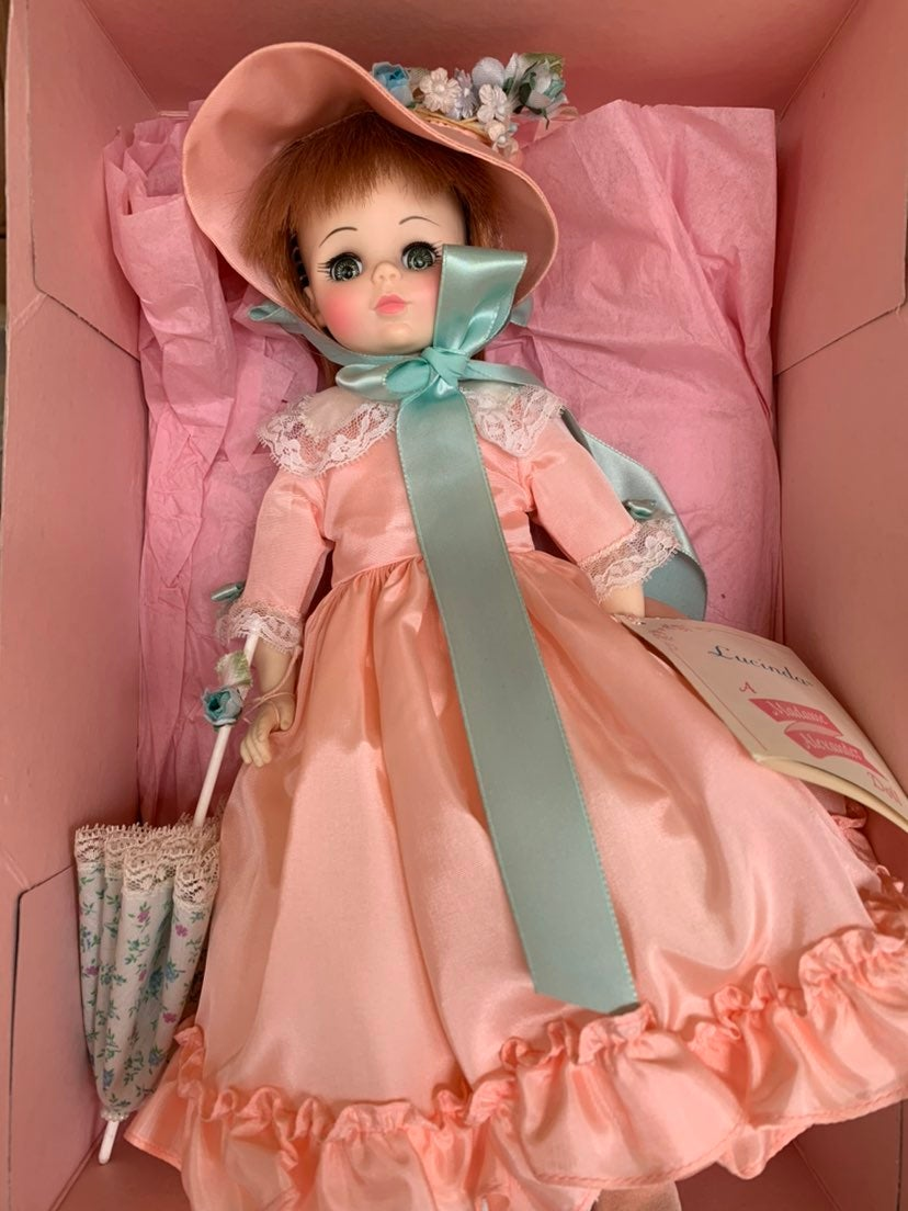 "Madame Alexander Lucinda Doll 14"""