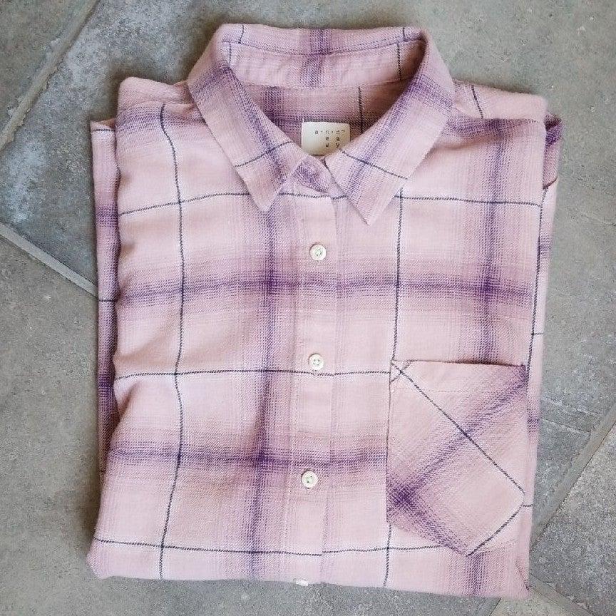 Mauve Flannel Shirt
