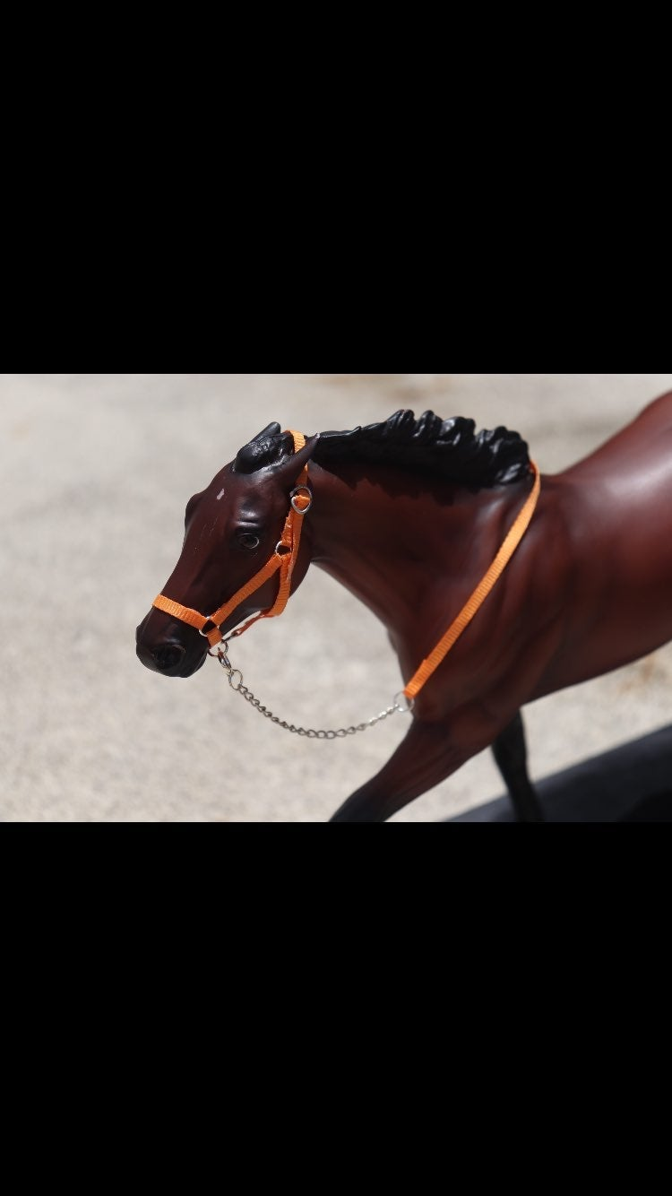 Breyer halters and leads