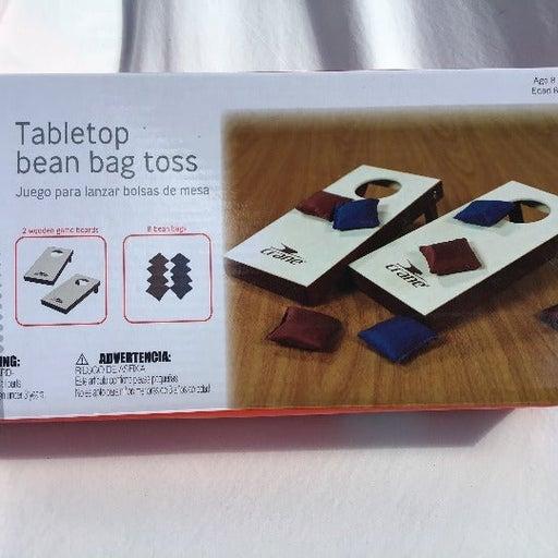 Table top bean bag toss
