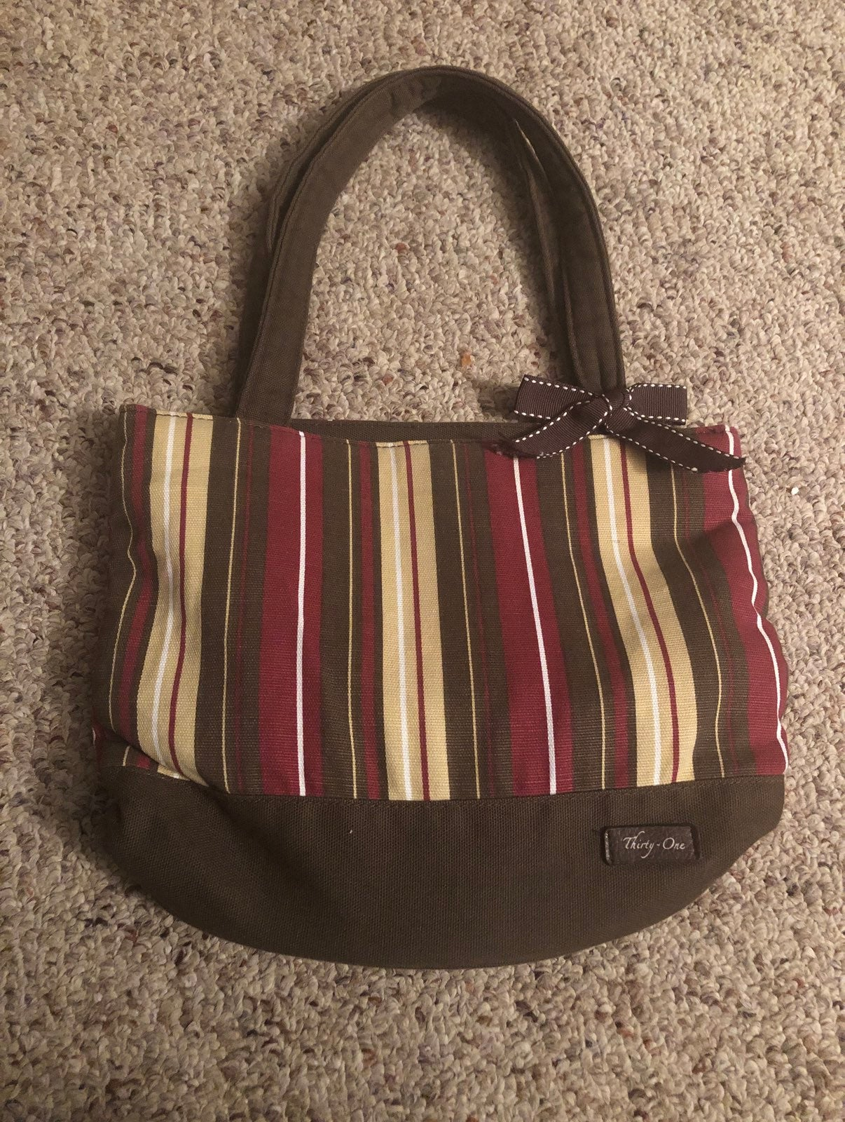Used thirty- one fabric purse