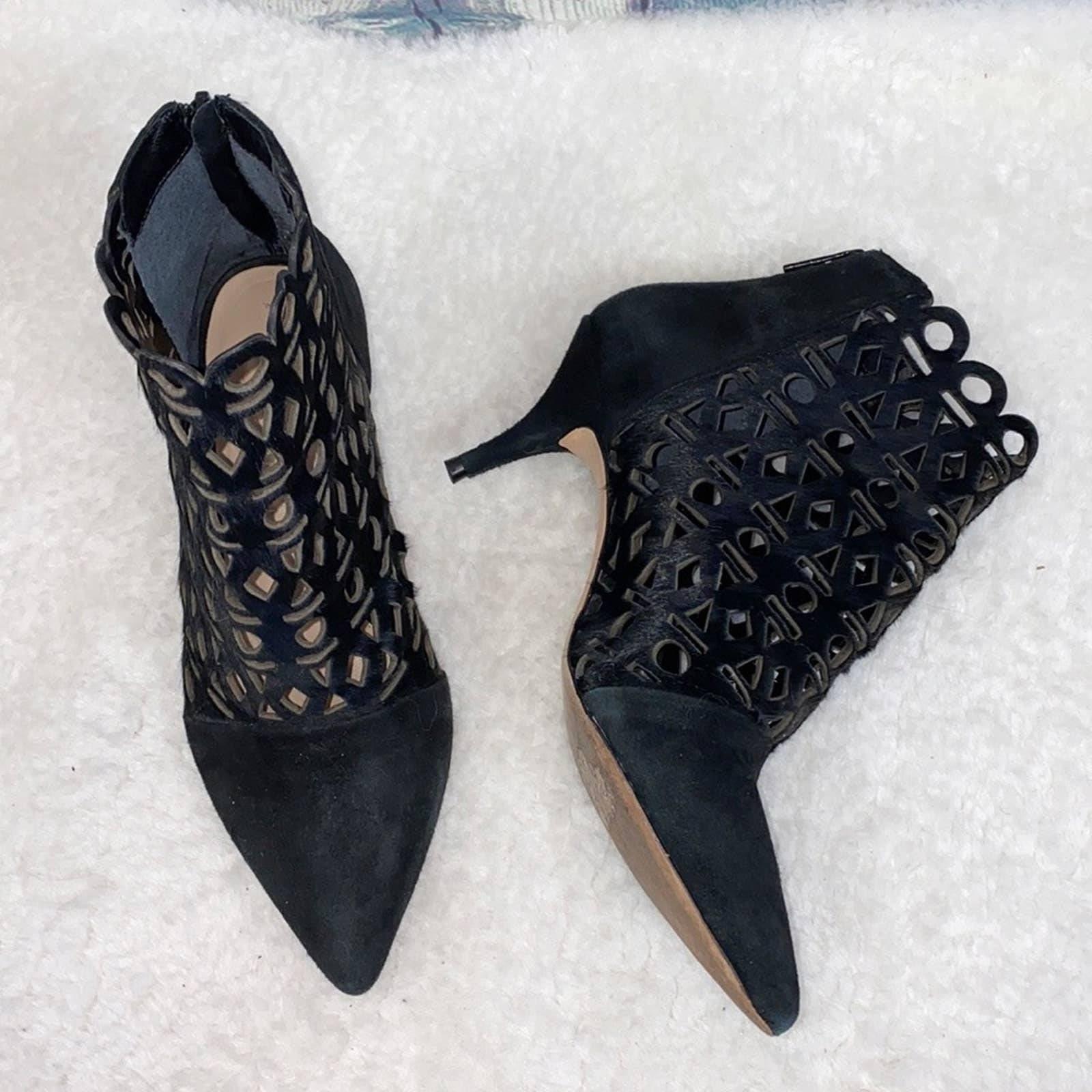 Loeffler Randall Rashida calf hair boots