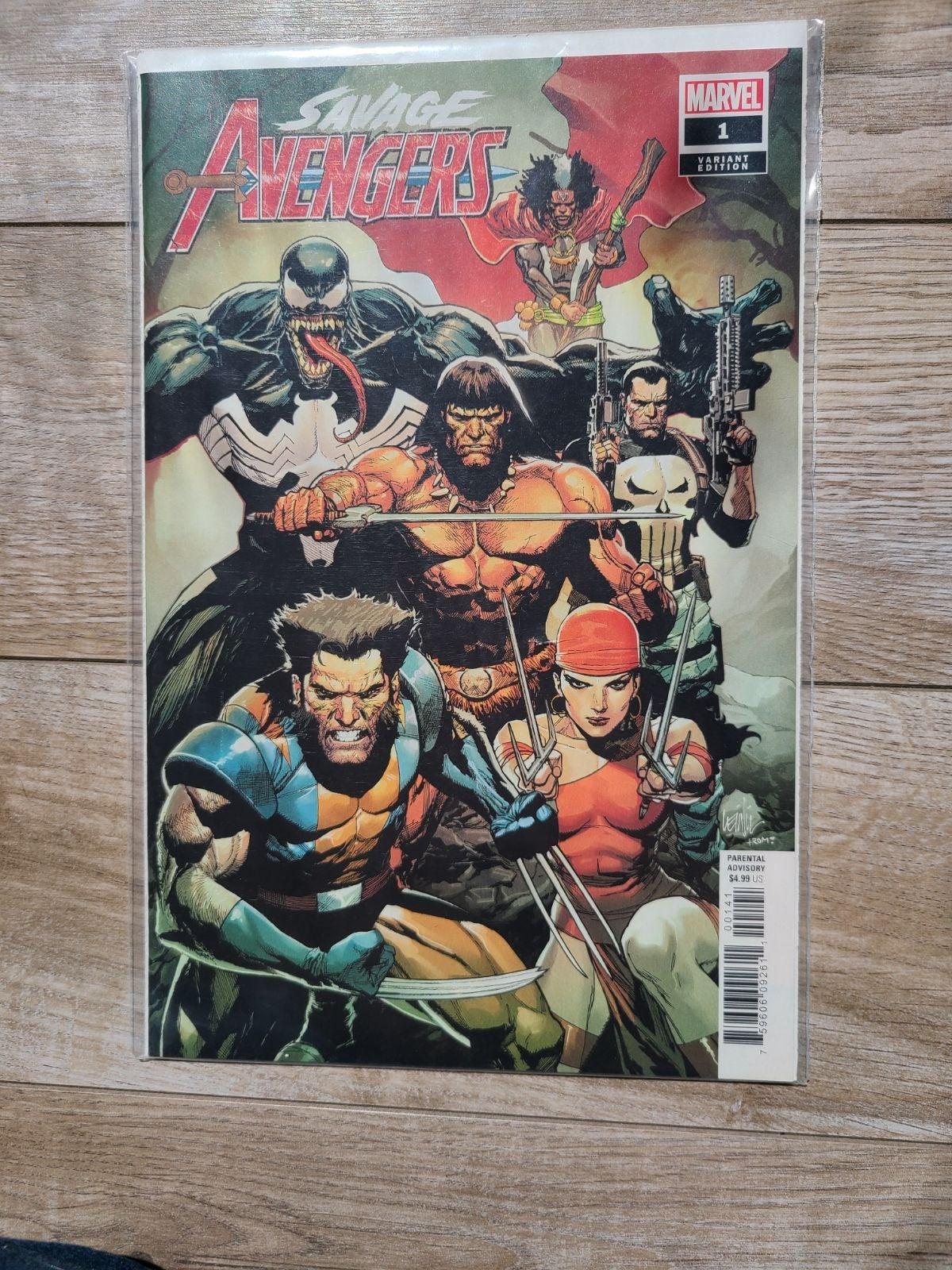 Savage Avengers #1 (Variant)