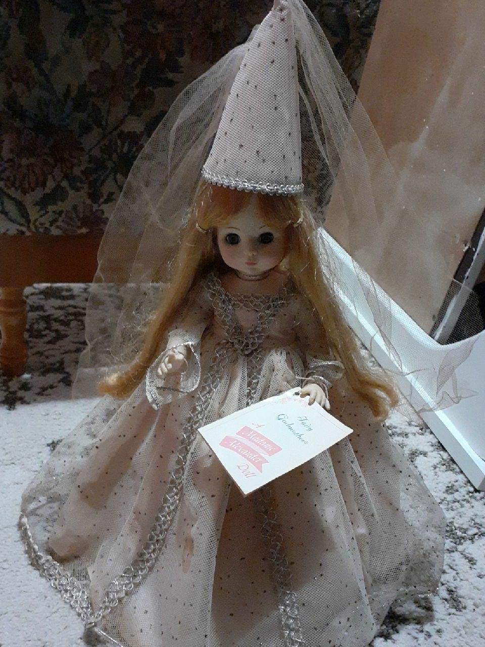 Madame Alexander Fairy Godmother molded