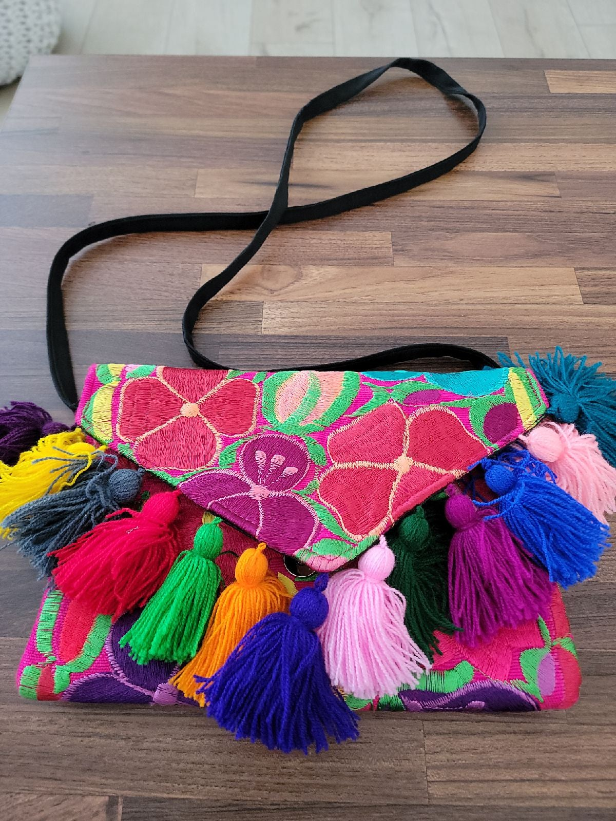 Mexican pouch handmade