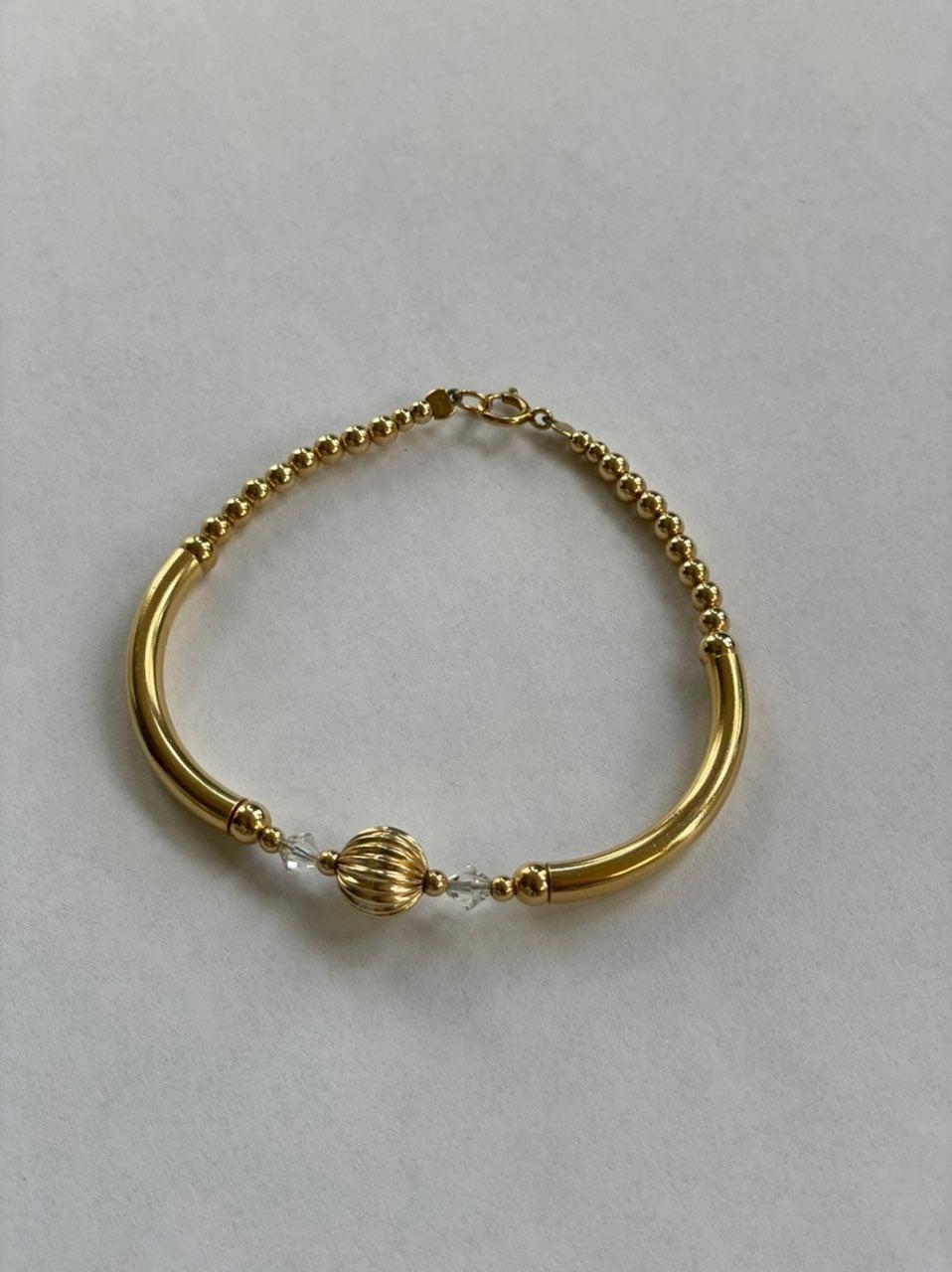 Handmade Gold-Filled Bracelet