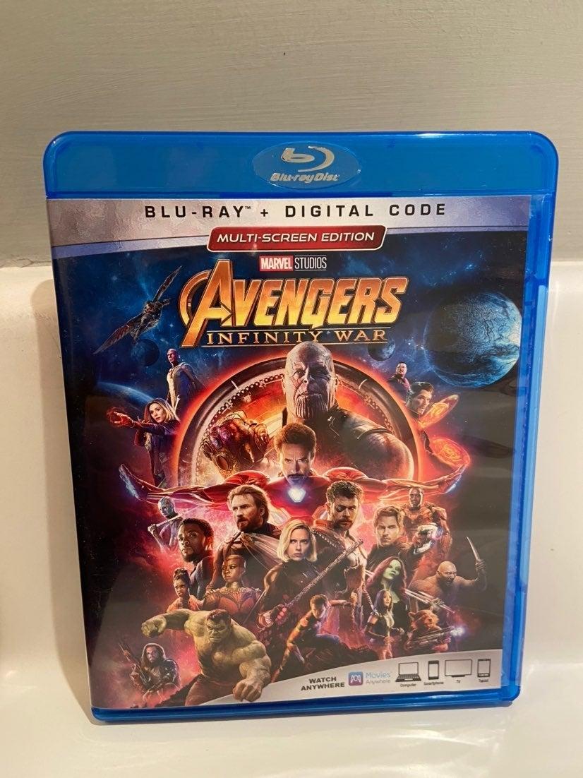 Avengers Infinity War Bluray