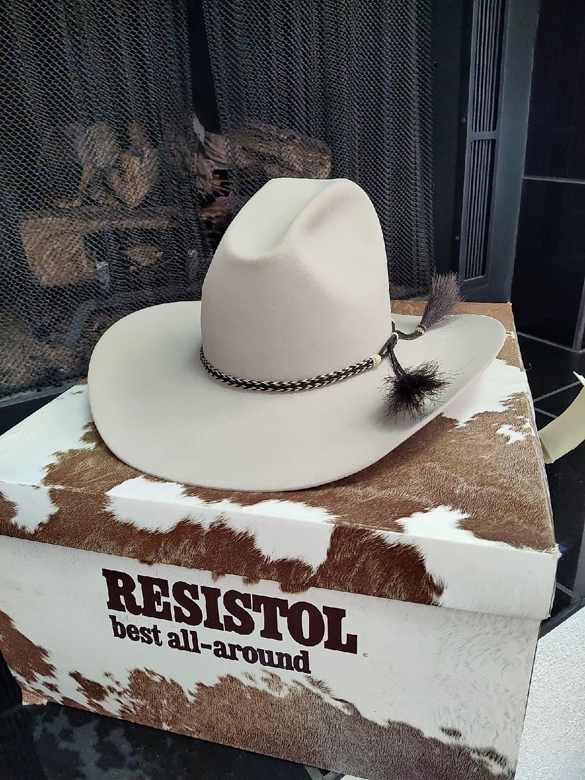 Resistol men's cow boy hat size 7