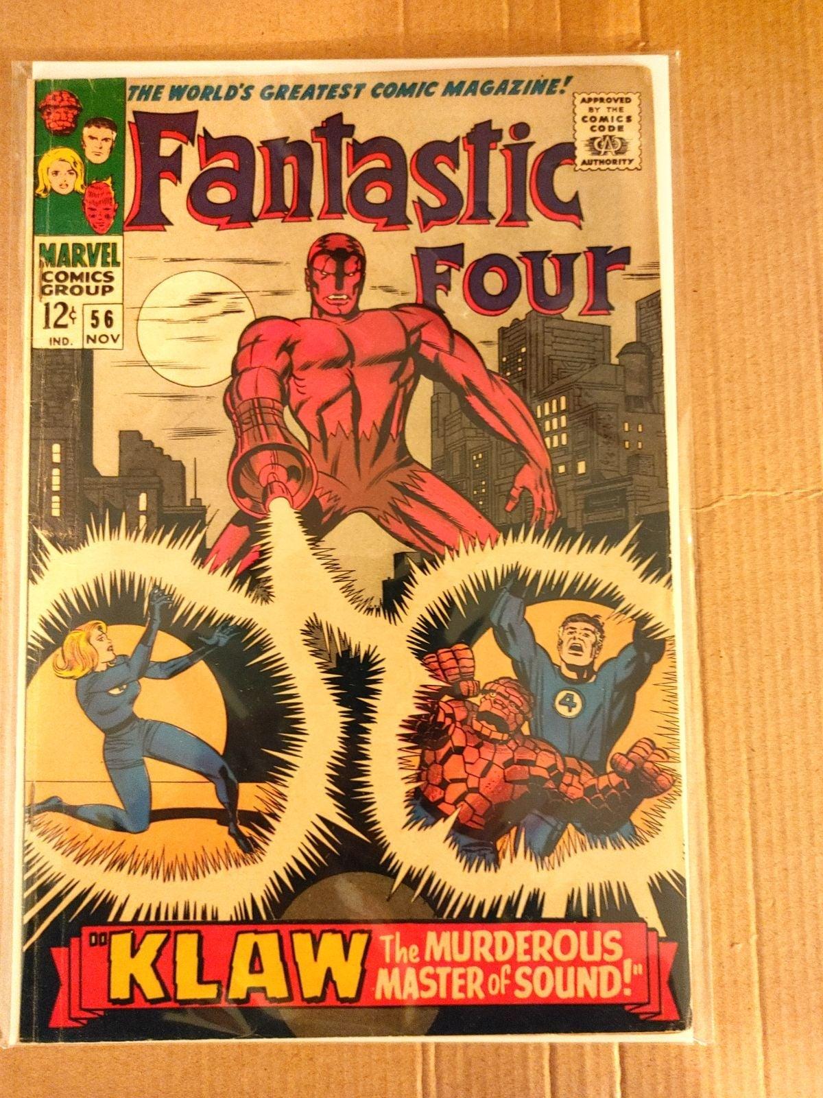 Fantastic Four #56 golden age comic