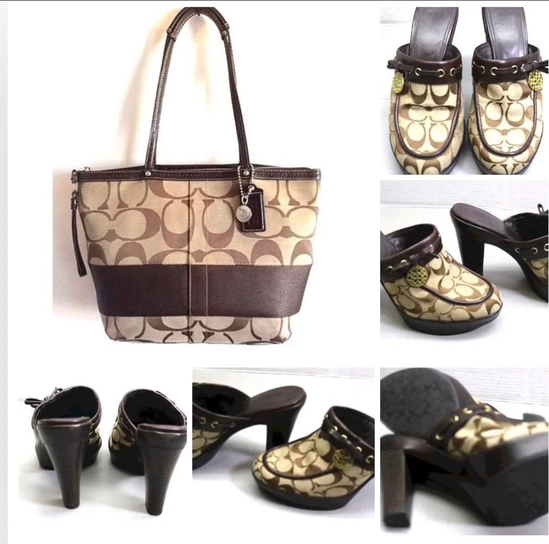 """Coach Bag+Cosch Mules and Levi""""s-FIRM"""